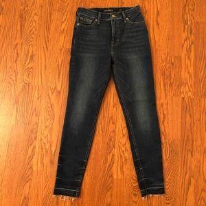 Lucky Brand Release Hem Bridgette Skinny Jeans 2